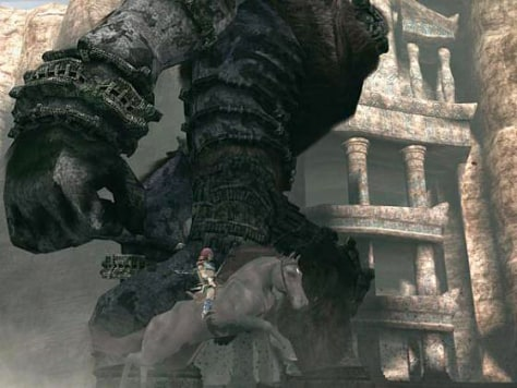 "screenshot from ""Shadow of the Colossus"""