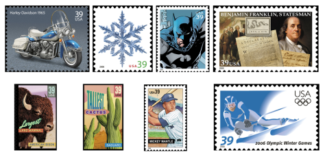 IMAGE: 2006 stamps