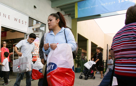 Shoppers look for bargains at the Citade