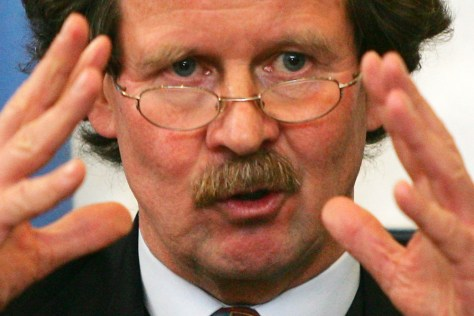 Image: Manfred Nowak, the U.N. special rapporteur on torture