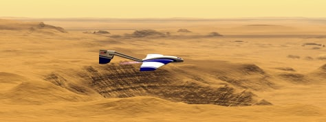 Image: ARES plane for Mars