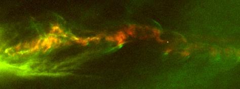 Image: Stellar jet