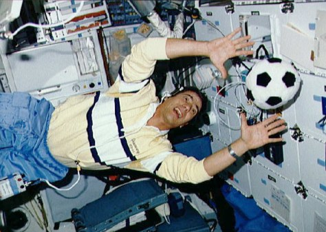Image: Soccer on shuttle