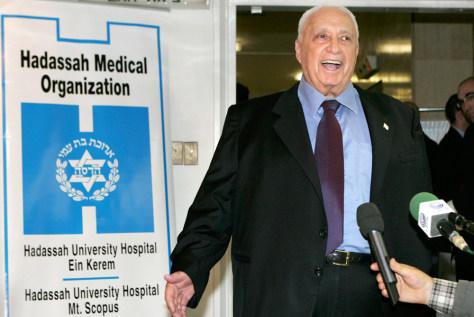 Image: Israeli Prime Minister Ariel Sharon