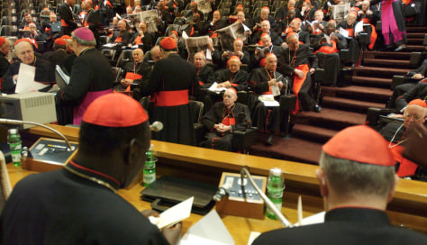 IMAGE: Cardinals prepare for conclave