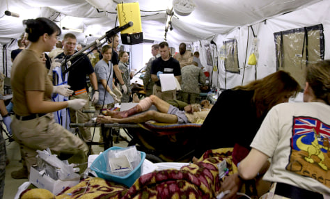 US Military Hospital In Iraq On Front Line World News - Map of us bases in iraq