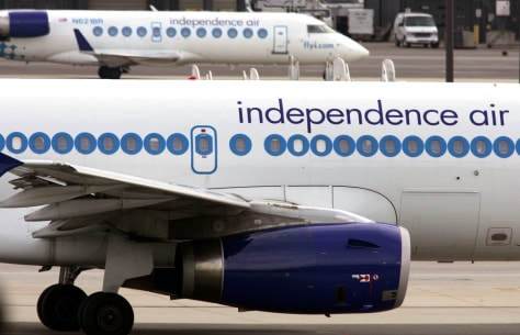 Image: An Independence Air jet