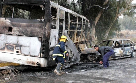 Image: Car bombing of bus