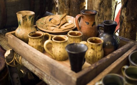 Image: Jamestown props