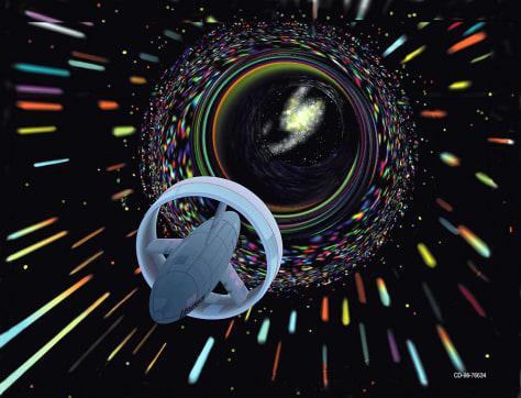 Image: Speed-of-light spaceship