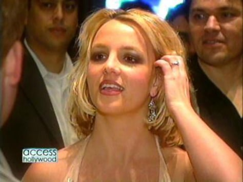 Britney was sporting a new 'do in Las Vegas.