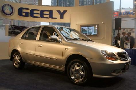 Chinese sedan