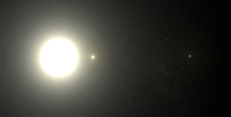 Image: Polaris triple-star system