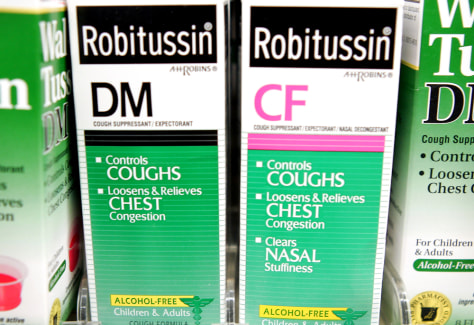 Image: Over-the-counter cough medicines