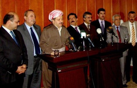 Leader of the Kurdistan Democratic Party