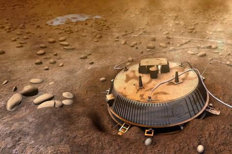 Image: Huygens lander