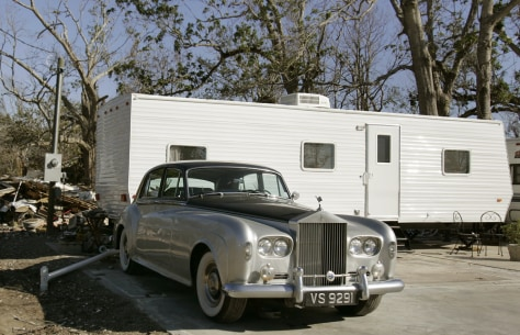 Image: FEMA trailers