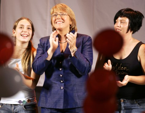 Image: Michelle Bachelet