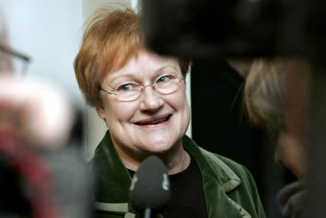 Image: Tarja Halonen