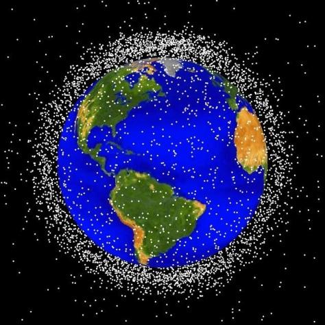 Image: LEO orbital debris