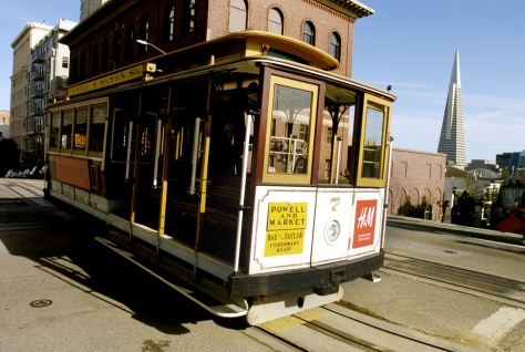 IMAGE: San Francisco cable car