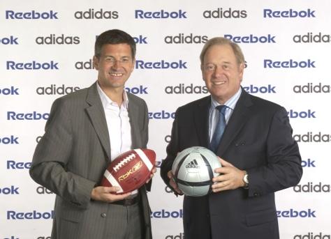 adidas chính thức trở thành công ty mẹ của Reebok