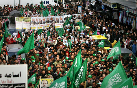 Image: Hamas supporters