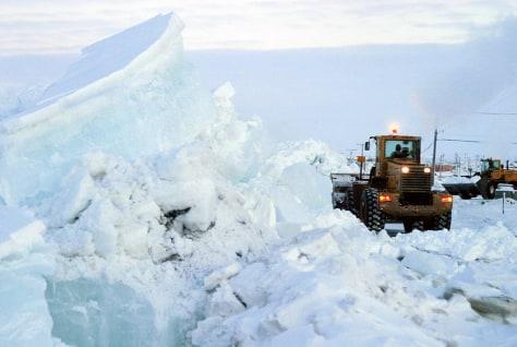 ice ridges