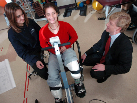 Image: Spinal cord injury patient