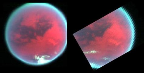 Image: Clouds on Titan