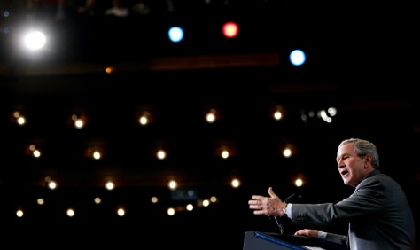 President Bush speaks in Nashville, Tennessee