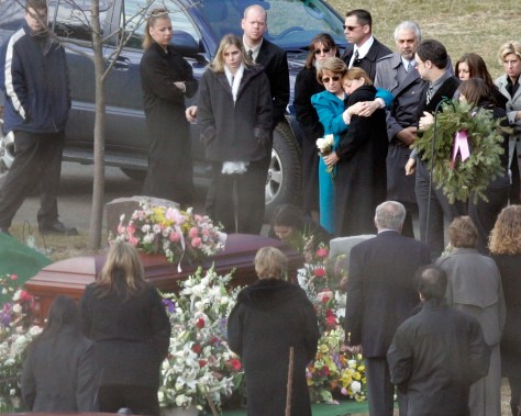 Image: Entwistle funeral