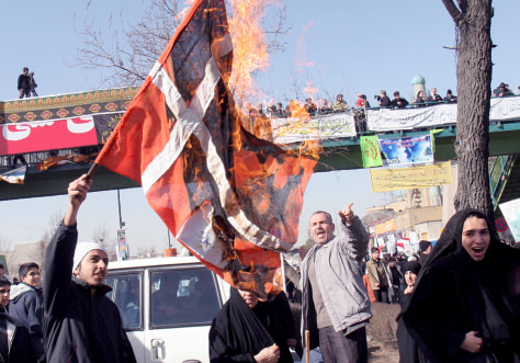 IMAGE: Iran protest