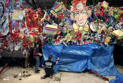 Image: Mardi Gras float