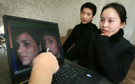 Image: Shanghai couple