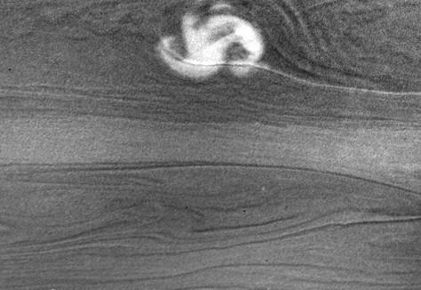 Image: Saturn storm