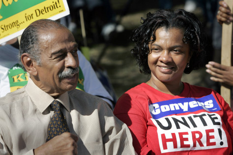Image: Monica and John Conyers