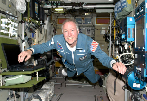 Olsen on space station