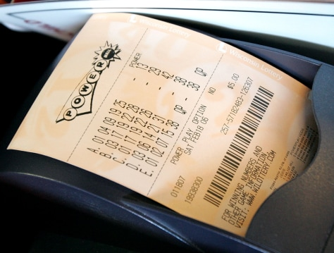 Image: Powerball ticket