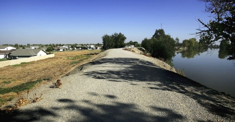 Image: California levee