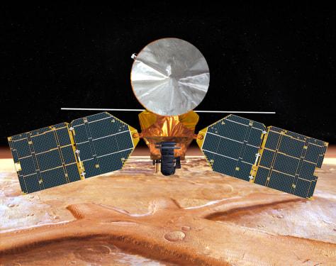 Image: Mars Reconnaissance Orbiter