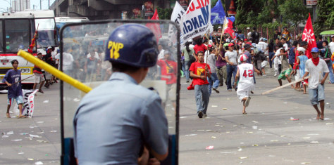 IMGE: Protests in  Philippines