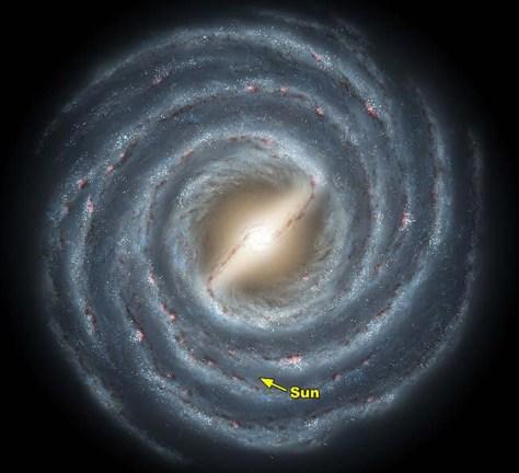 Image: Milky Way artwork