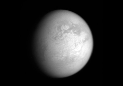 Image: Infrared view of Titan