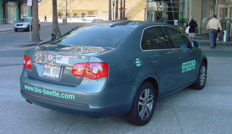 IMAGE: BIODIESEL RENTAL CAR