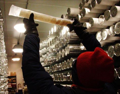 Image: Ice cores
