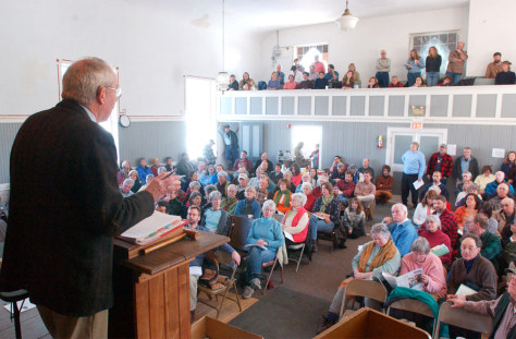 IMAGE: VERMONT TOWN HALL DEBATE
