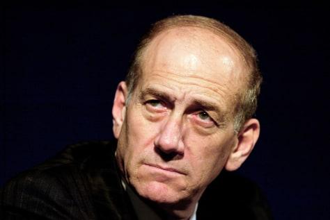 IMAGE: IsraeliPrime Minister Ehud Olmert