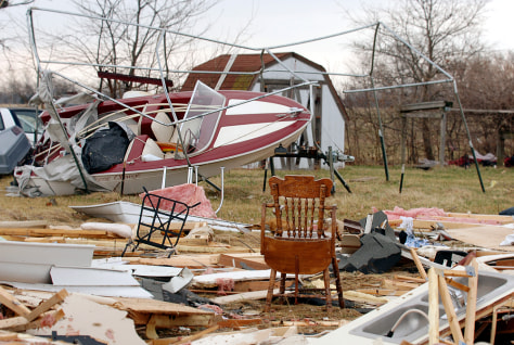 Image: Mobile home ruins