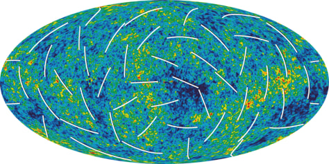 Image: WMAP map of universe